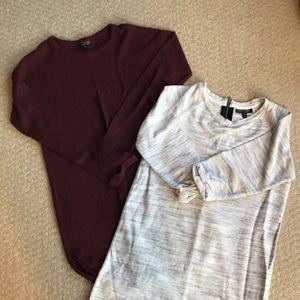 Set of 2 Topshop tunics size 4/6